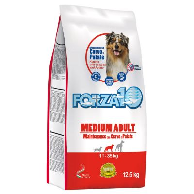 FORZA10 12.5KG MEDIUM ADULT CERVOPATATE
