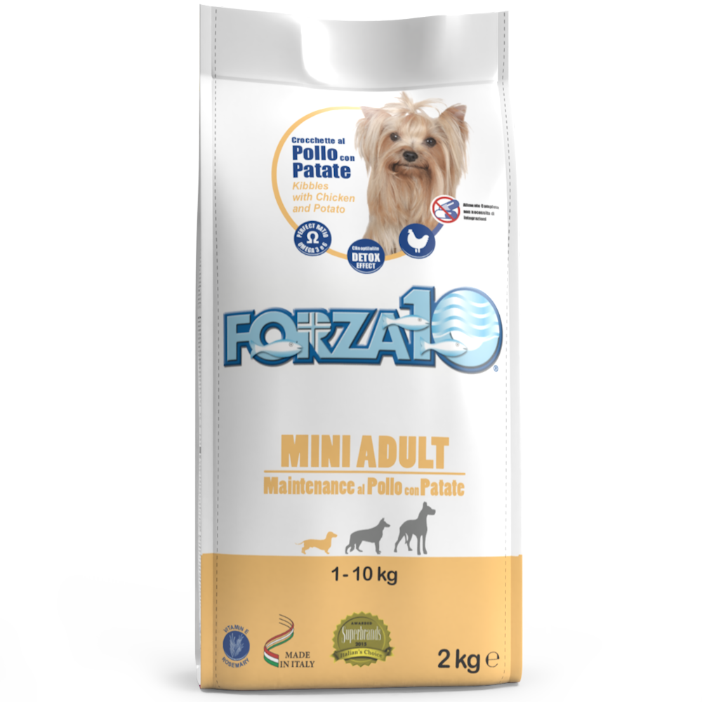 FORZA10 2KG MINI ADULT POLLOPATATE